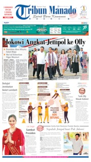 Cover Tribun Manado 05 Juli 2019
