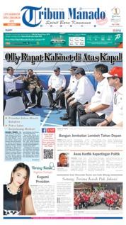 Cover Tribun Manado 06 Juli 2019
