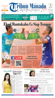 Cover Tribun Manado 07 Juli 2019