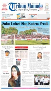 Cover Tribun Manado 08 Juli 2019