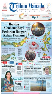 Cover Tribun Manado 09 Juli 2019