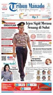 Cover Tribun Manado 10 Juli 2019