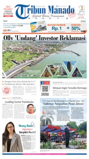 Cover Tribun Manado 11 Juli 2019