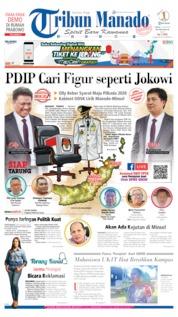 Cover Tribun Manado 13 Juli 2019