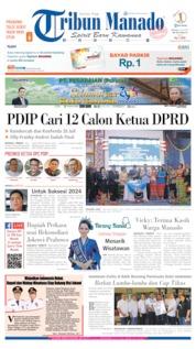 Cover Tribun Manado 16 Juli 2019