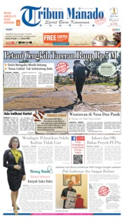 Cover Tribun Manado 17 Juli 2019