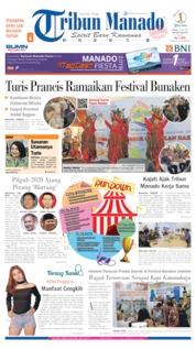 Tribun Manado Cover 18 July 2019