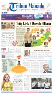 Cover Tribun Manado 19 Juli 2019