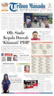 Tribun Manado Cover 21 July 2019