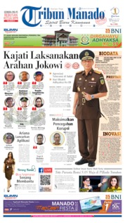 Tribun Manado Cover 22 July 2019