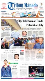 Cover Tribun Manado 23 Juli 2019