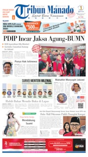 Tribun Manado Cover 10 August 2019