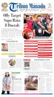 Tribun Manado Cover 11 August 2019