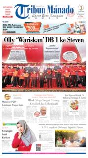 Tribun Manado Cover 12 August 2019