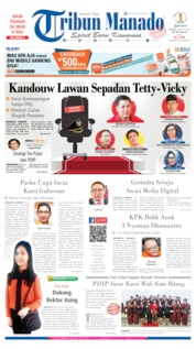 Tribun Manado Cover 13 August 2019