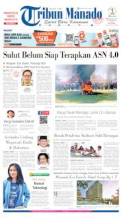 Tribun Manado Cover 14 August 2019