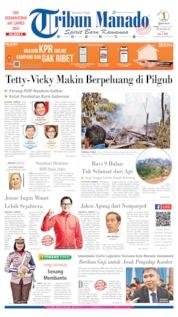 Tribun Manado Cover 15 August 2019