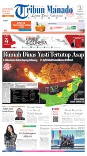 Tribun Manado Cover 16 August 2019