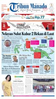 Cover Tribun Manado 17 Agustus 2019