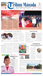 Cover Tribun Manado 18 Agustus 2019