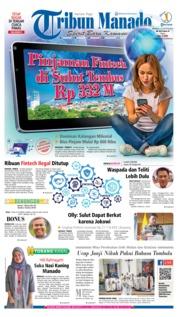 Tribun Manado Cover 25 August 2019
