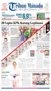 Cover Tribun Manado 26 Agustus 2019