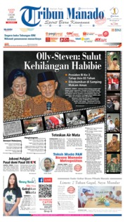 Cover Tribun Manado 12 September 2019