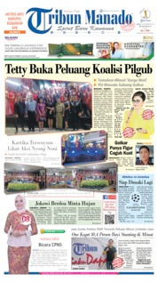 Cover Tribun Manado 18 September 2019