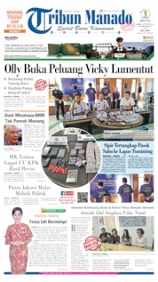 Cover Tribun Manado 19 September 2019