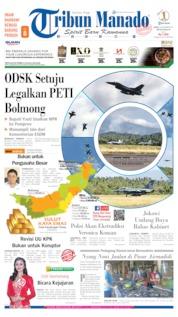Cover Tribun Manado 20 September 2019