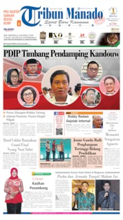 Cover Tribun Manado 21 September 2019
