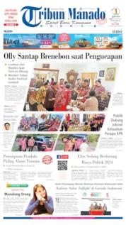 Cover Tribun Manado 07 Oktober 2019