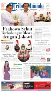 Cover Tribun Manado 12 Oktober 2019