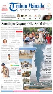 Cover Tribun Manado 15 Oktober 2019