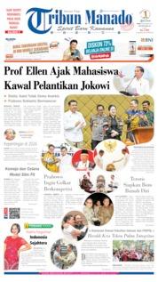 Cover Tribun Manado 16 Oktober 2019