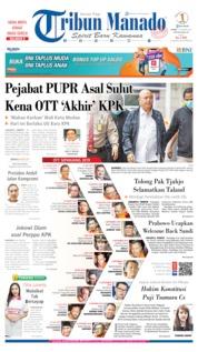 Cover Tribun Manado 17 Oktober 2019
