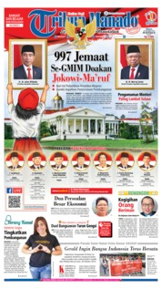 Tribun Manado Cover 20 October 2019