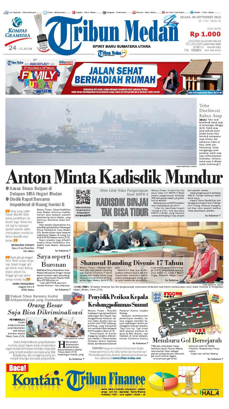 Tribun Medan Digital Newspaper Pagi