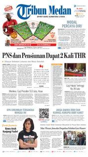 Cover Tribun Medan [Pagi] 13 Maret 2018