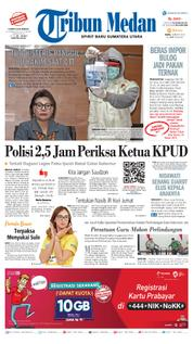 Cover Tribun Medan [Pagi] 14 Maret 2018