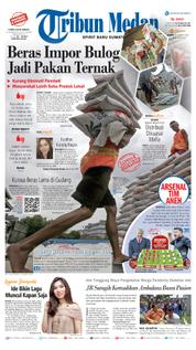 Cover Tribun Medan [Pagi] 15 Maret 2018