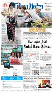 Cover Tribun Medan [Pagi] 17 Maret 2018