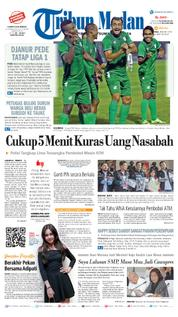 Tribun Medan Cover [Pagi] 18 March 2018