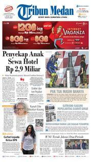 Cover Tribun Medan [Pagi] 19 Maret 2018