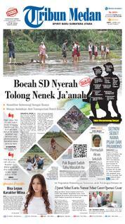 Cover Tribun Medan [Pagi] 23 Maret 2018