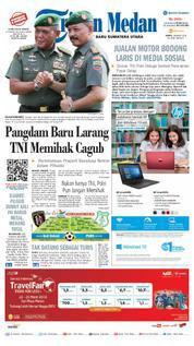 Cover Tribun Medan [Pagi] 24 Maret 2018