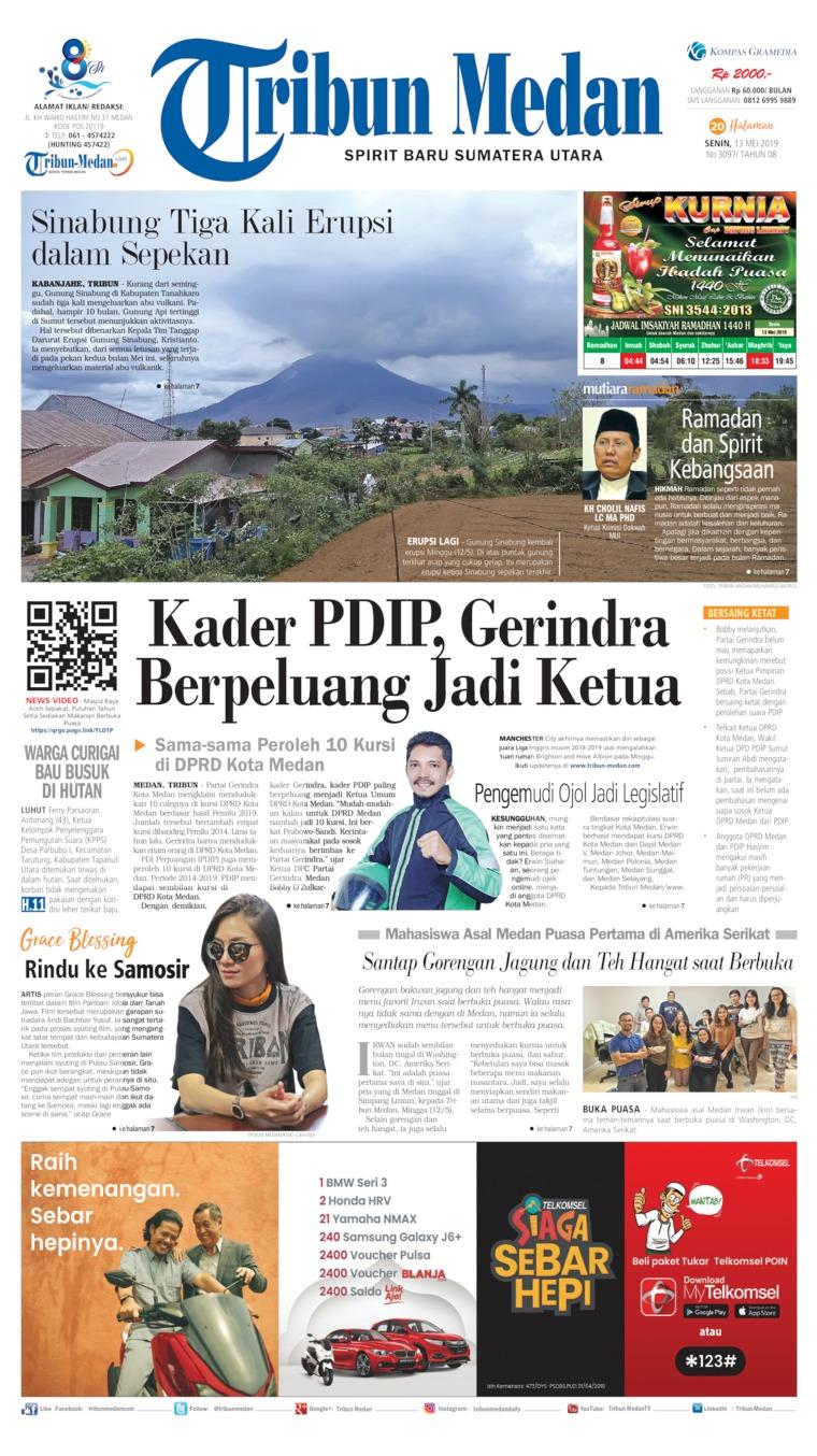 Koran Digital Tribun Medan 13 Mei 2019