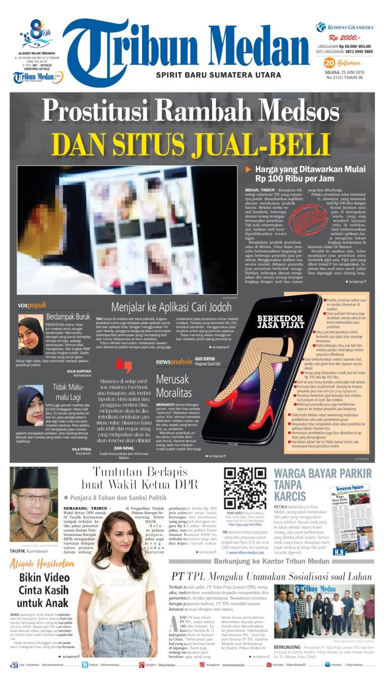 Tribun Medan Digital Newspaper 25 June 2019