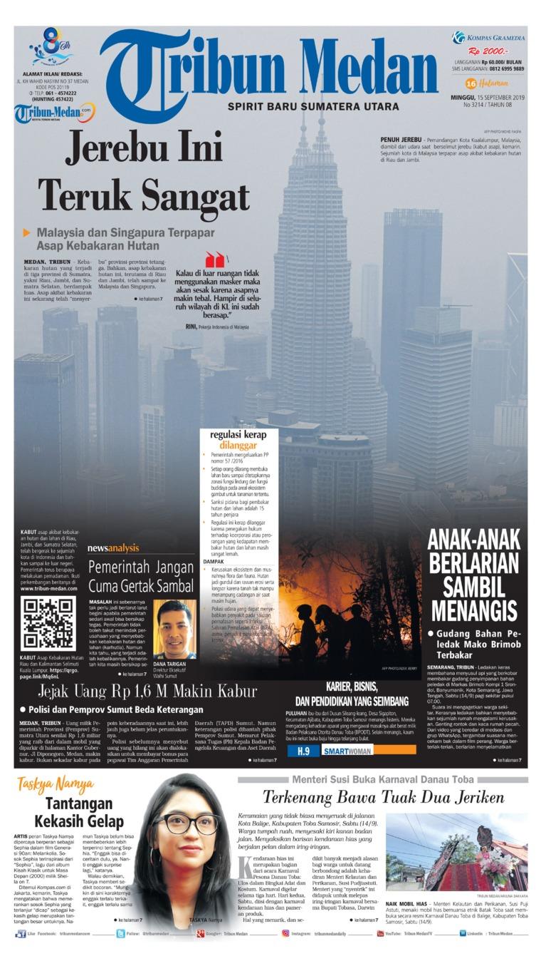 Koran Digital Tribun Medan 15 September 2019
