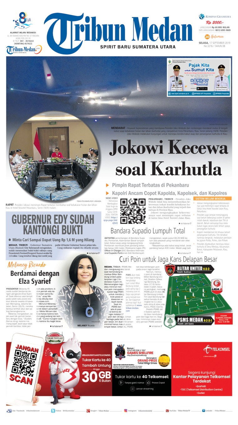 Koran Digital Tribun Medan 17 September 2019